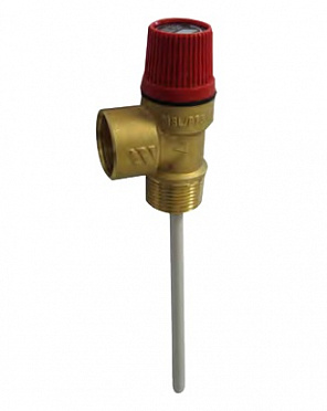 Combined temperature and pressure valve MSL/PT
