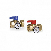 Ball valves set KHT