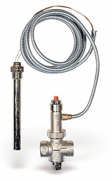 Thermal safety drain valve STS